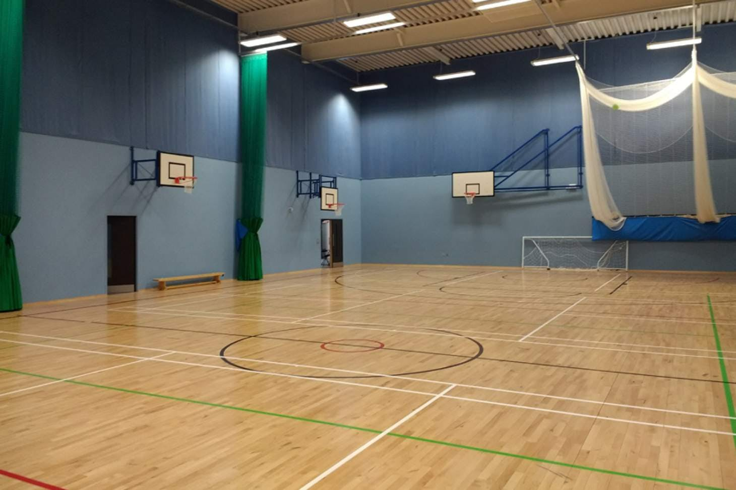 Oasis Academy Arena Indoor basketball court