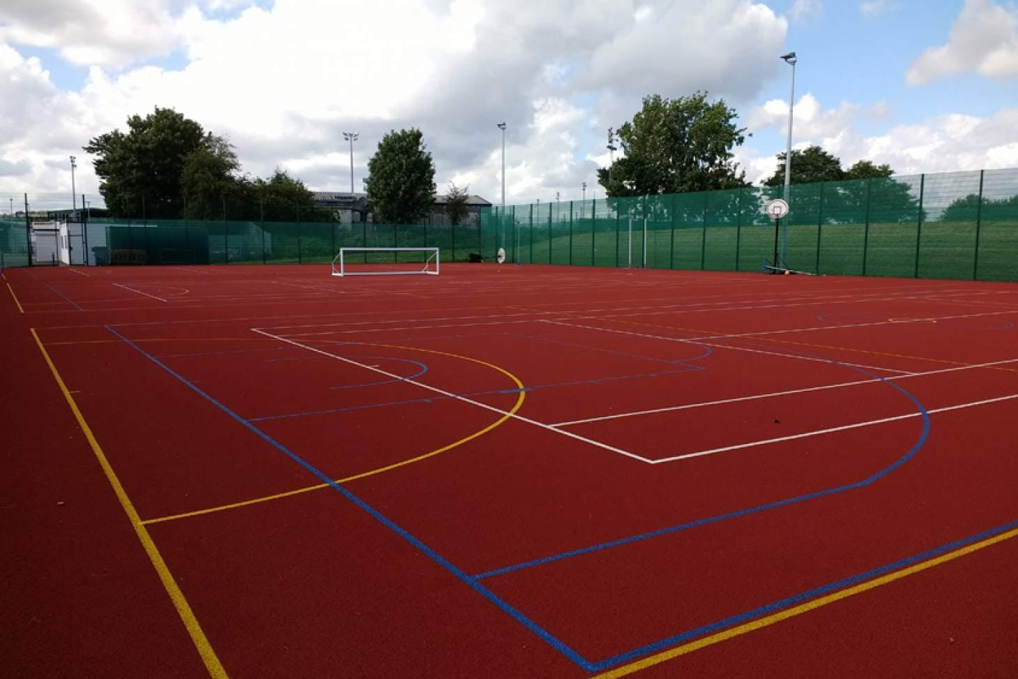 Oasis Academy Arena 5 a side | Concrete football pitch
