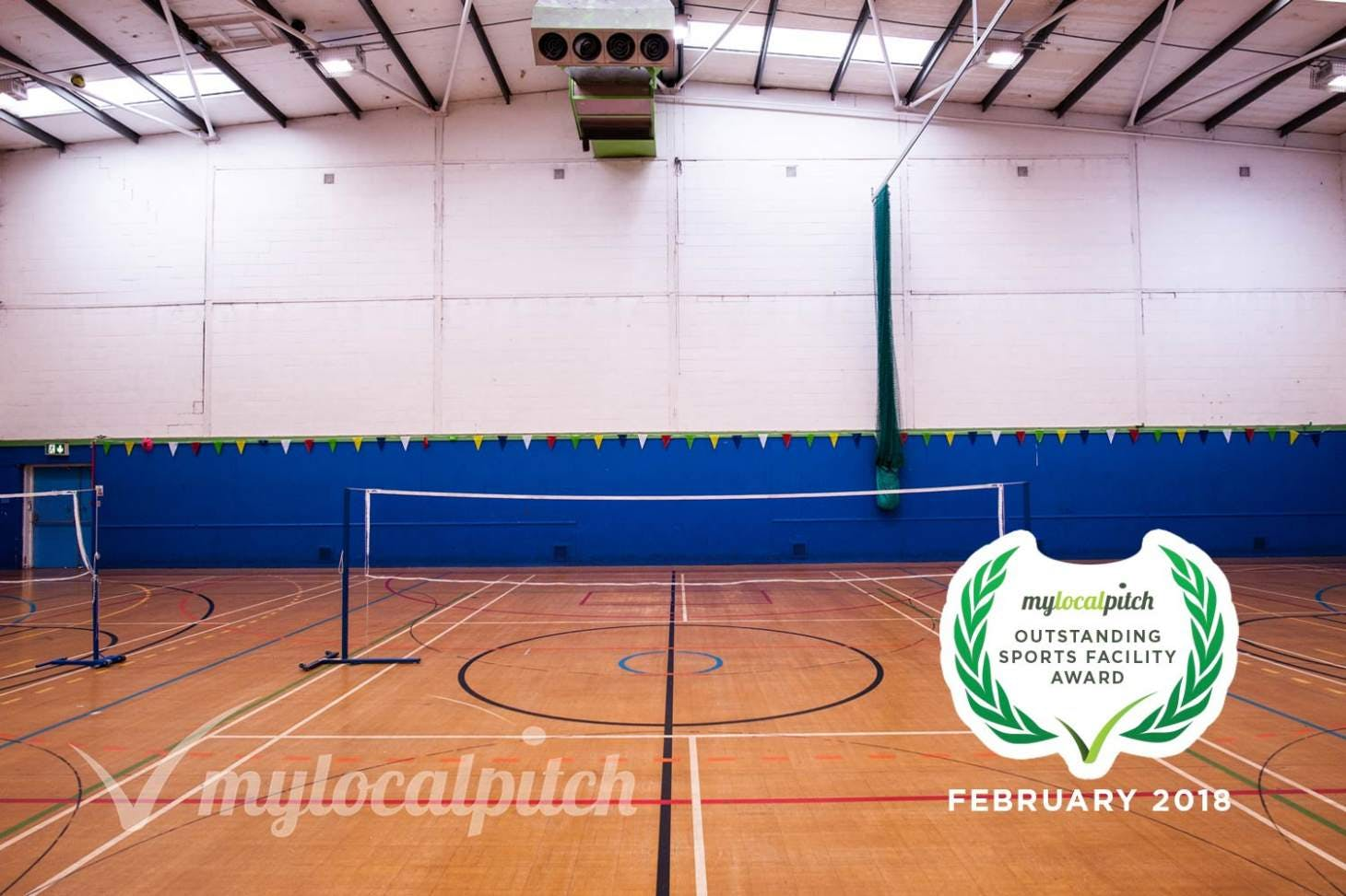 Ordsall Leisure Centre Indoor | Hard badminton court