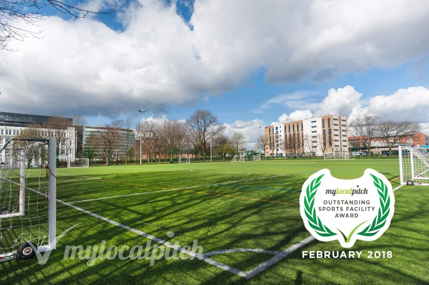 Ordsall Leisure Centre 11 a side | 3G Astroturf football pitch