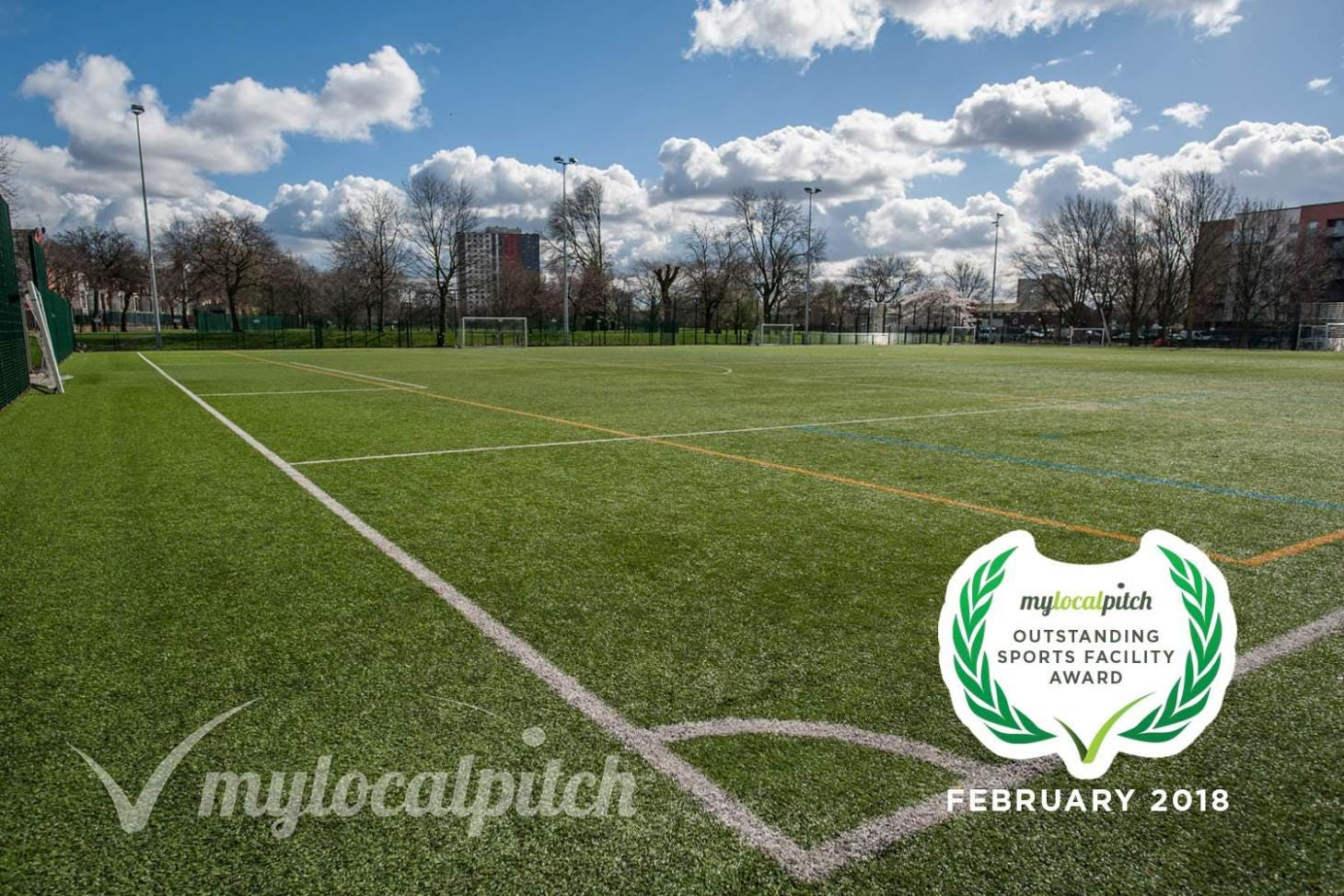 Ordsall Leisure Centre Outdoor | Astroturf hockey pitch