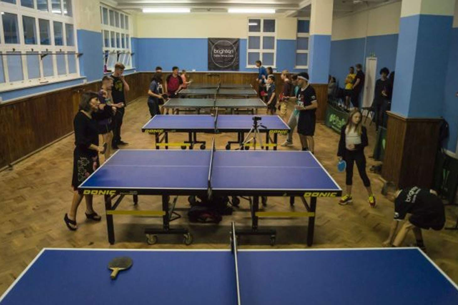 Brighton Table Tennis Club Table | Hard table tennis table