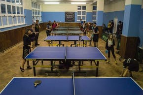 Brighton Table Tennis Club | Hard Table Tennis Table