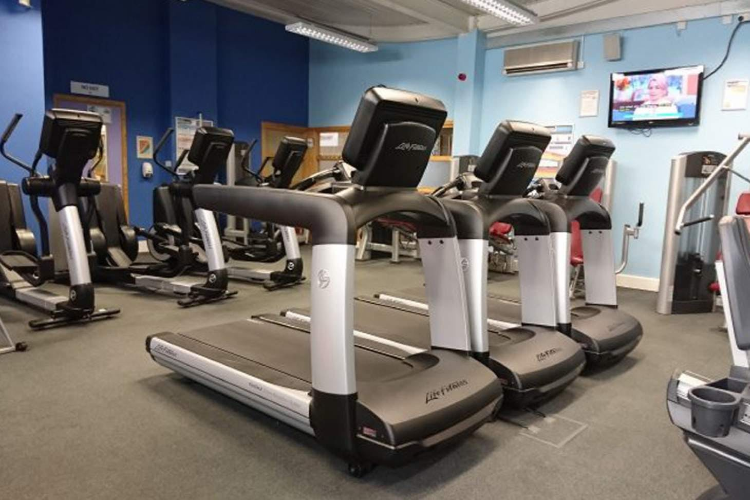 Longhill Sports Centre Gym | Hard gym