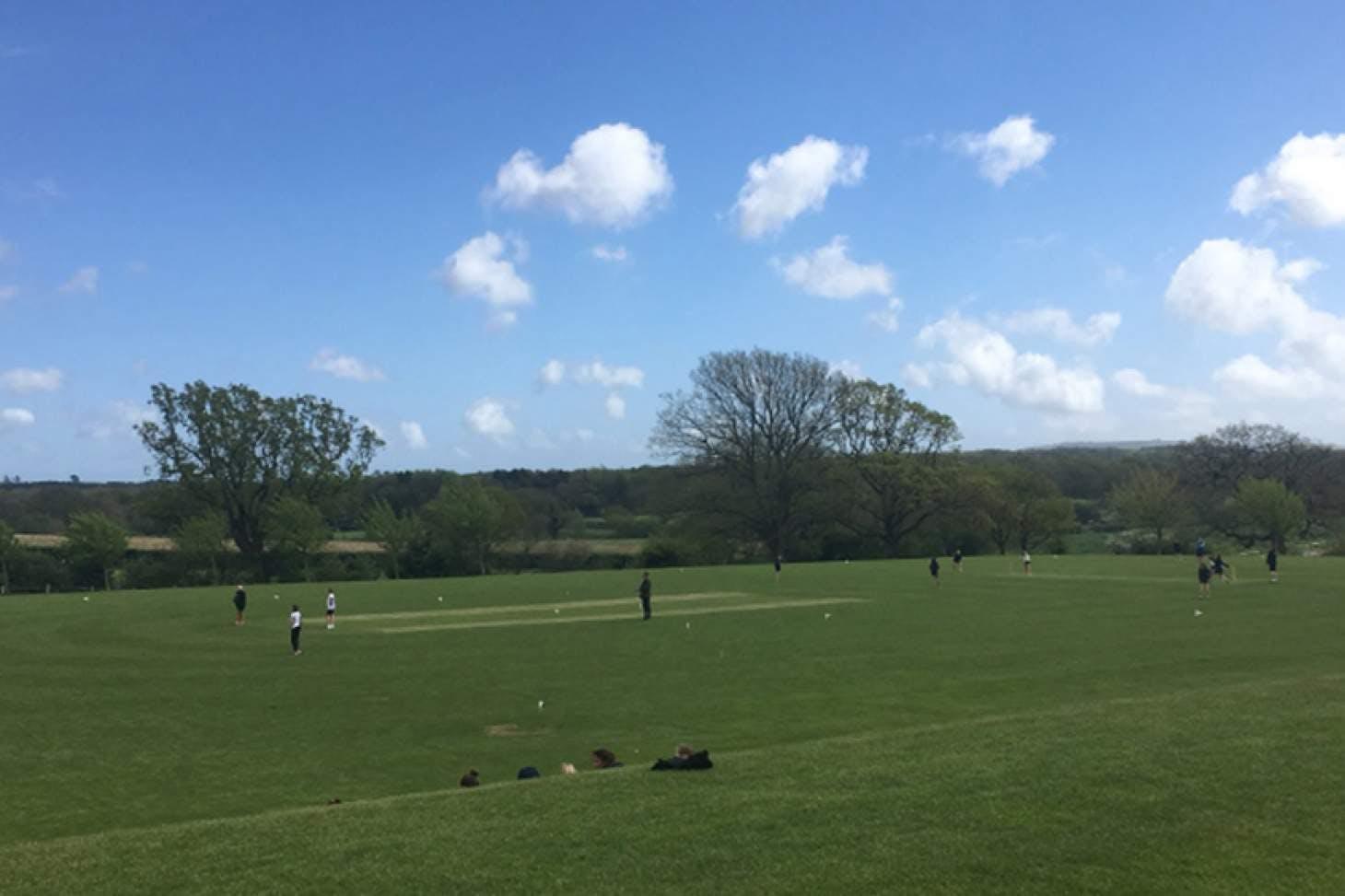 Roedean School Full size | Grass cricket facilities