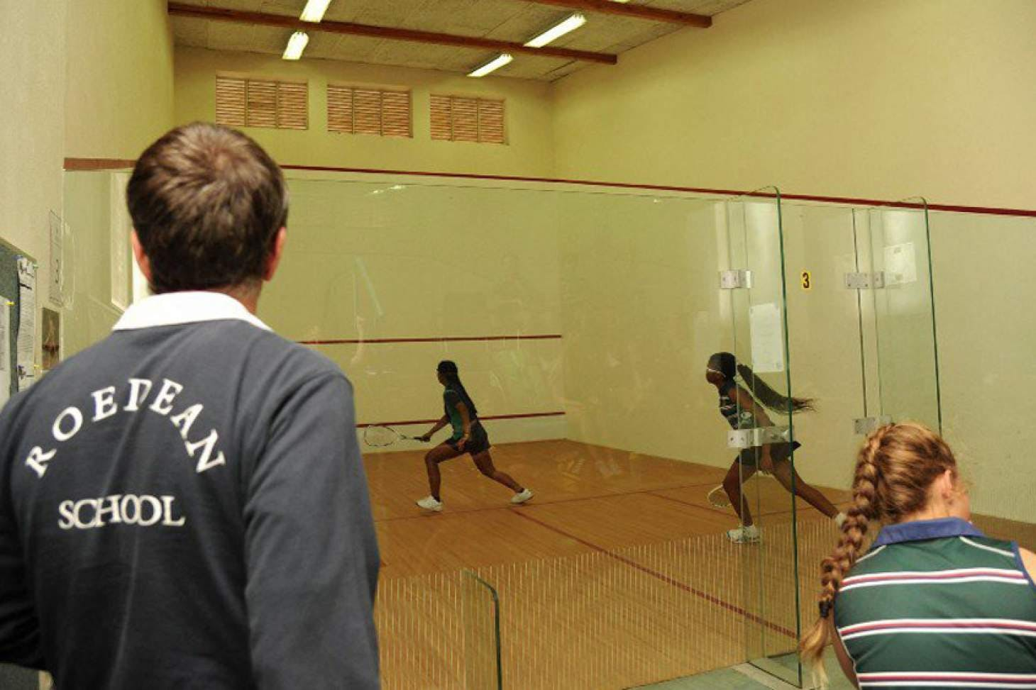 Roedean School Indoor | Hard squash court