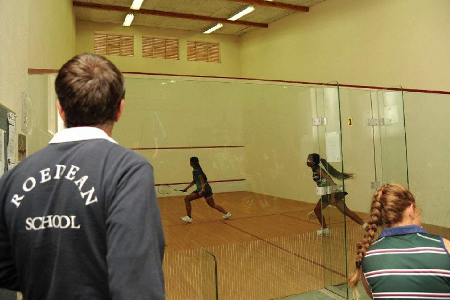 Roedean School Indoor | Hard squash court