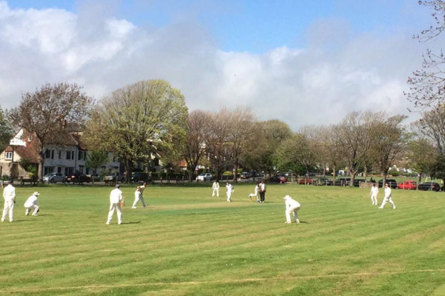 Southwick Green Full size   Grass cricket facilities