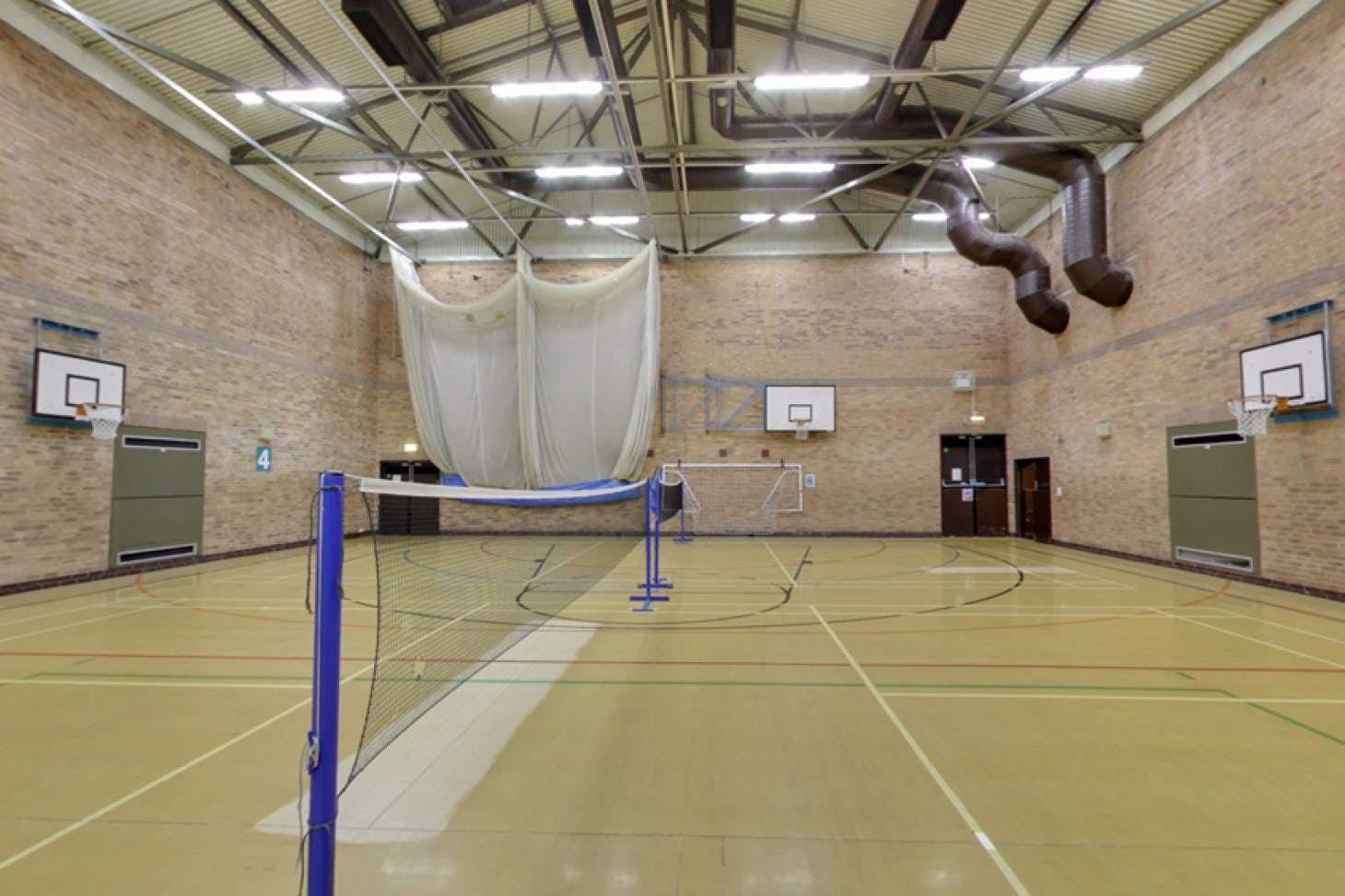 Stanley Deason Leisure Centre Sports hall space hire