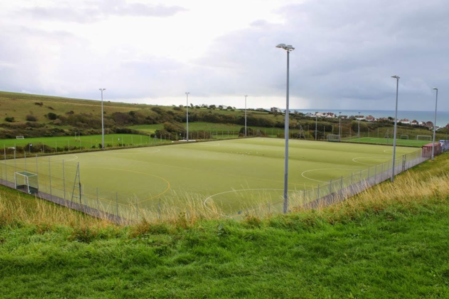 Stanley Deason Leisure Centre 6-a-side pitch | Sand-based Astroturf hockey pitch