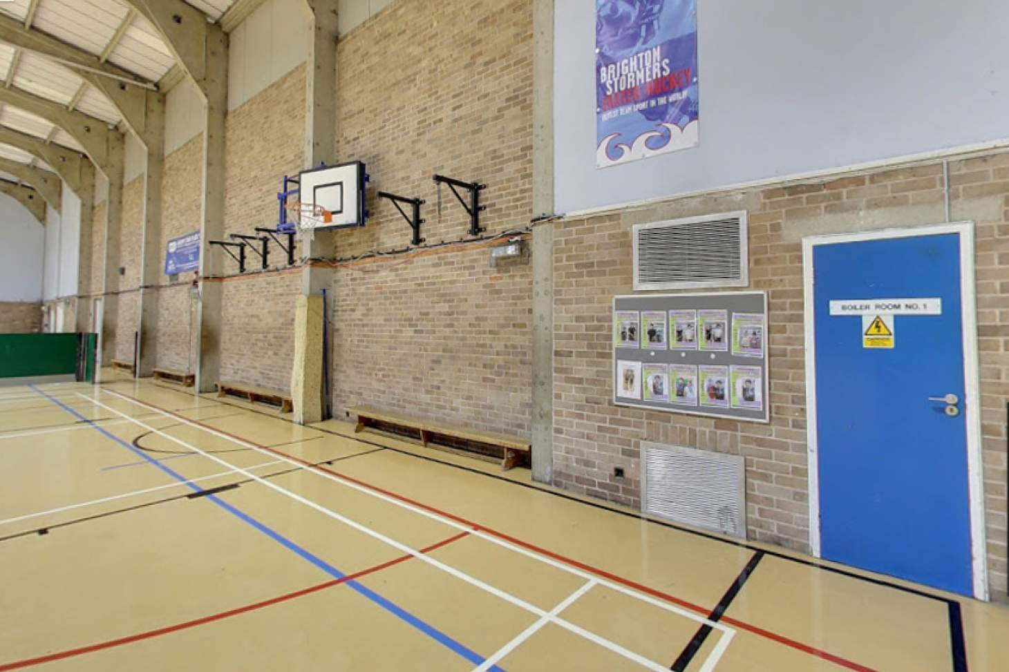 Impulse Leisure (Southwick) Sports hall space hire