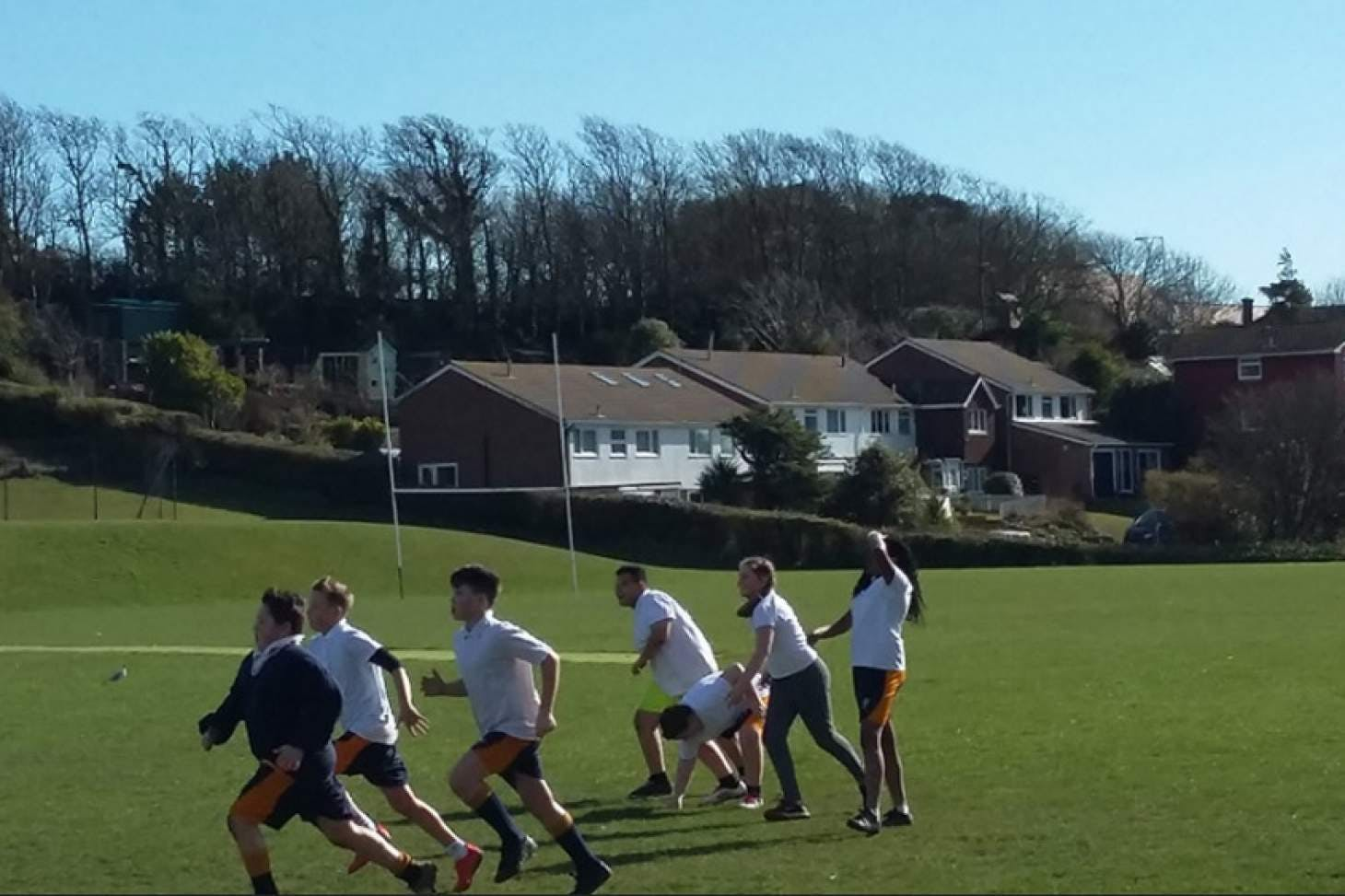 Longhill Sports Centre Union | Grass rugby pitch
