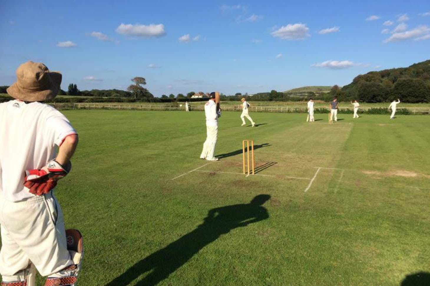 Poynings Cricket Club Full size | Grass cricket facilities