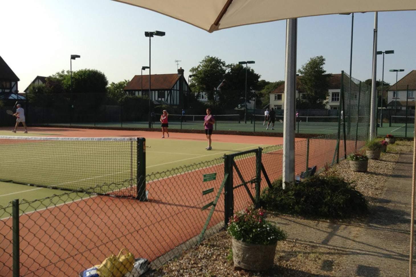 Sussex County Lawn Tennis Club Outdoor | Astroturf tennis court