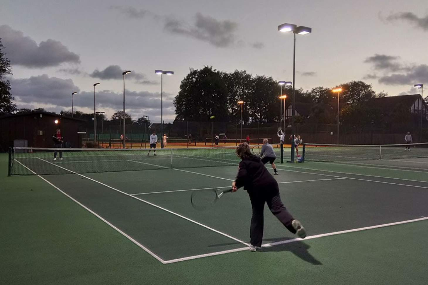 Sussex County Lawn Tennis Club Outdoor | Hard (macadam) tennis court