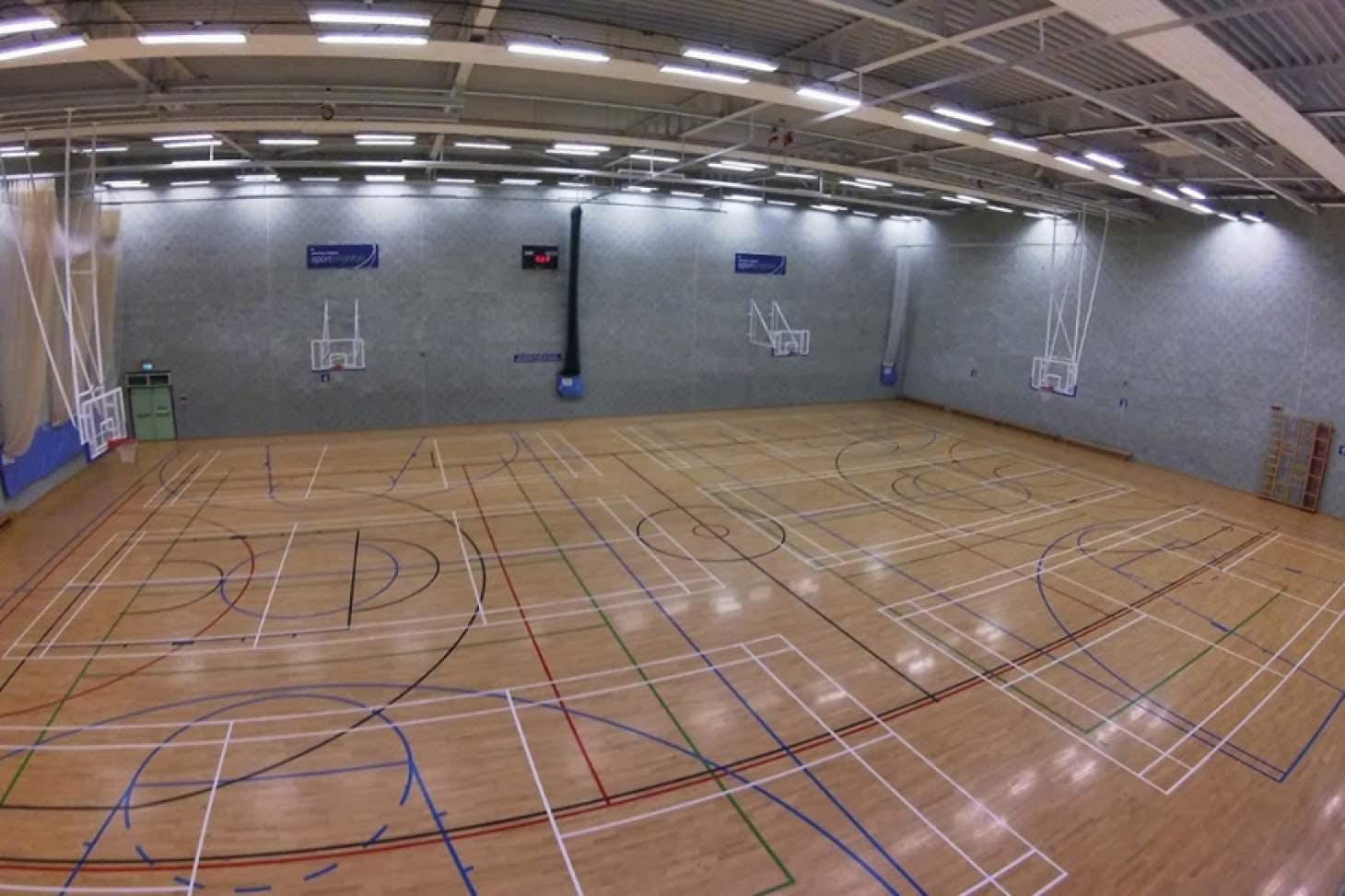 University Of Brighton (Falmer Campus) Nets | Sports hall cricket facilities