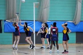 University Of Sussex Sport Centre | Indoor Netball Court
