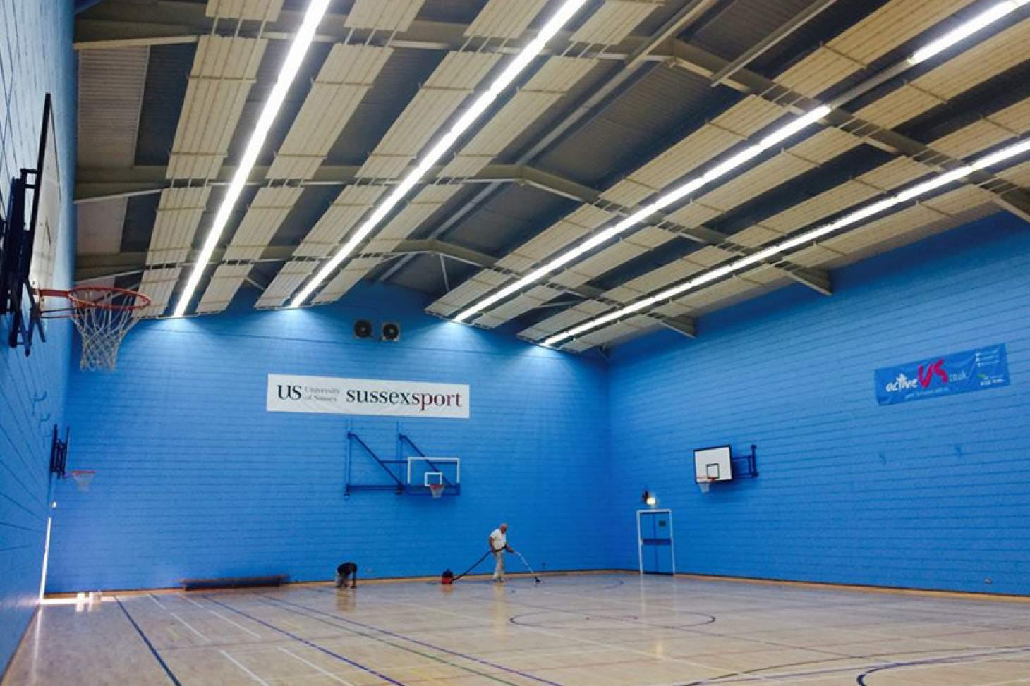 University Of Sussex Sport Centre 5 a side | Indoor football pitch