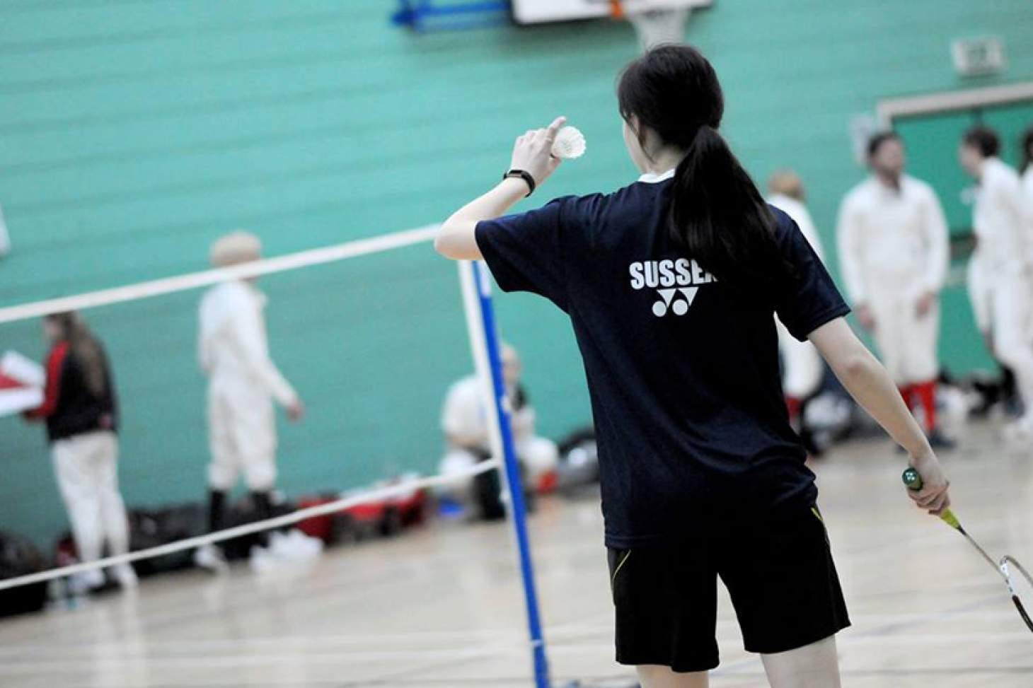 University Of Sussex Sport Centre Indoor | Hard badminton court