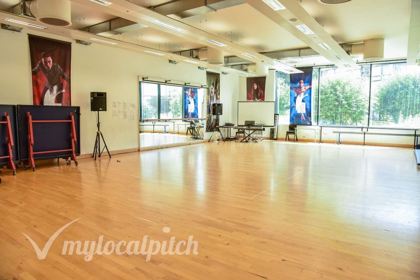 BACA Sports Centre Studio | Dance studio space hire