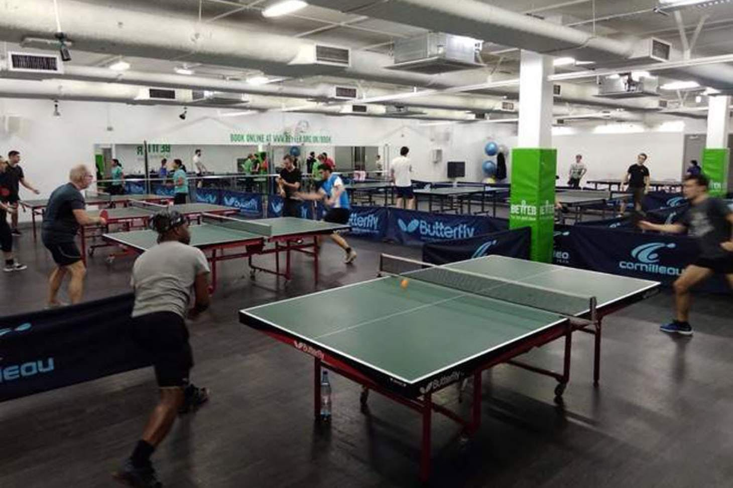 Finsbury Leisure Centre Table | Hard table tennis table