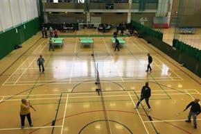 Sobell Leisure Centre   Hard Table Tennis Table