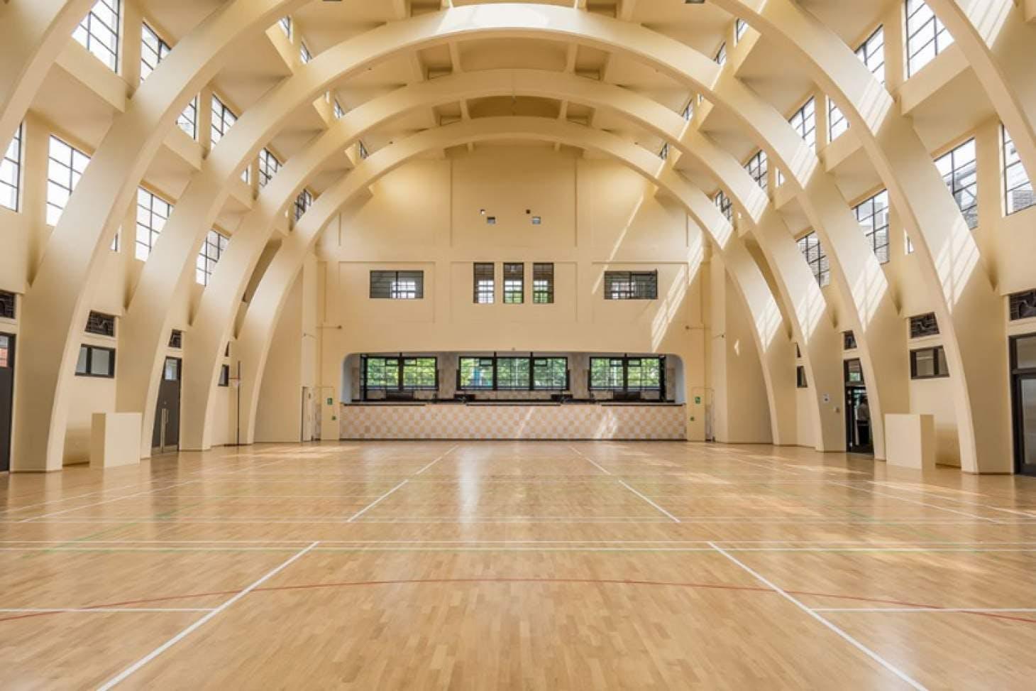 Poplar Baths Leisure Centre Table | Hard table tennis table