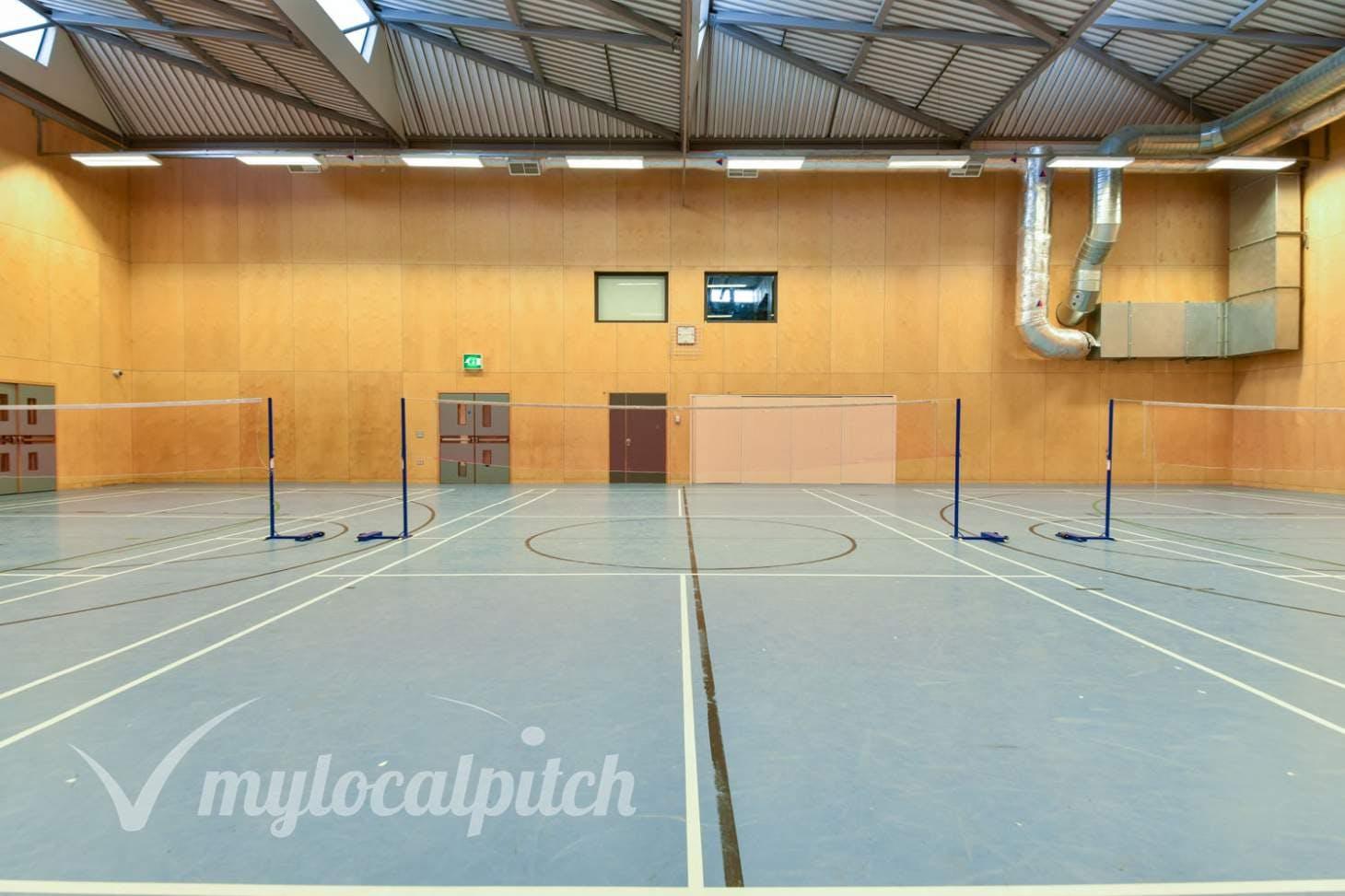 Cedars Youth & Community Centre Indoor badminton court