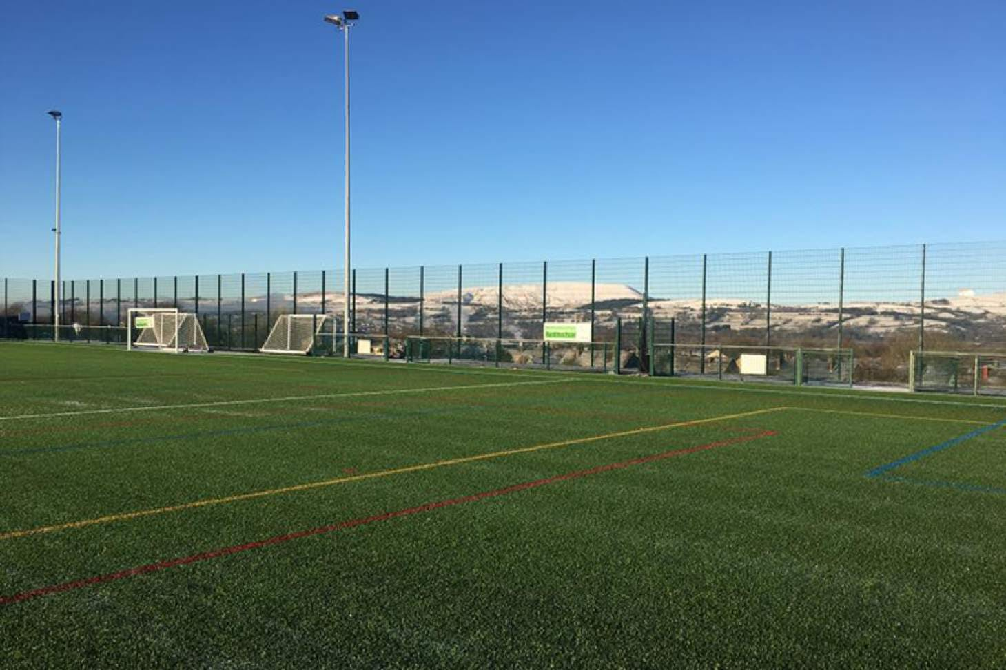 Saints John Fisher and Thomas More RCHS 6 a side   3G Astroturf football pitch