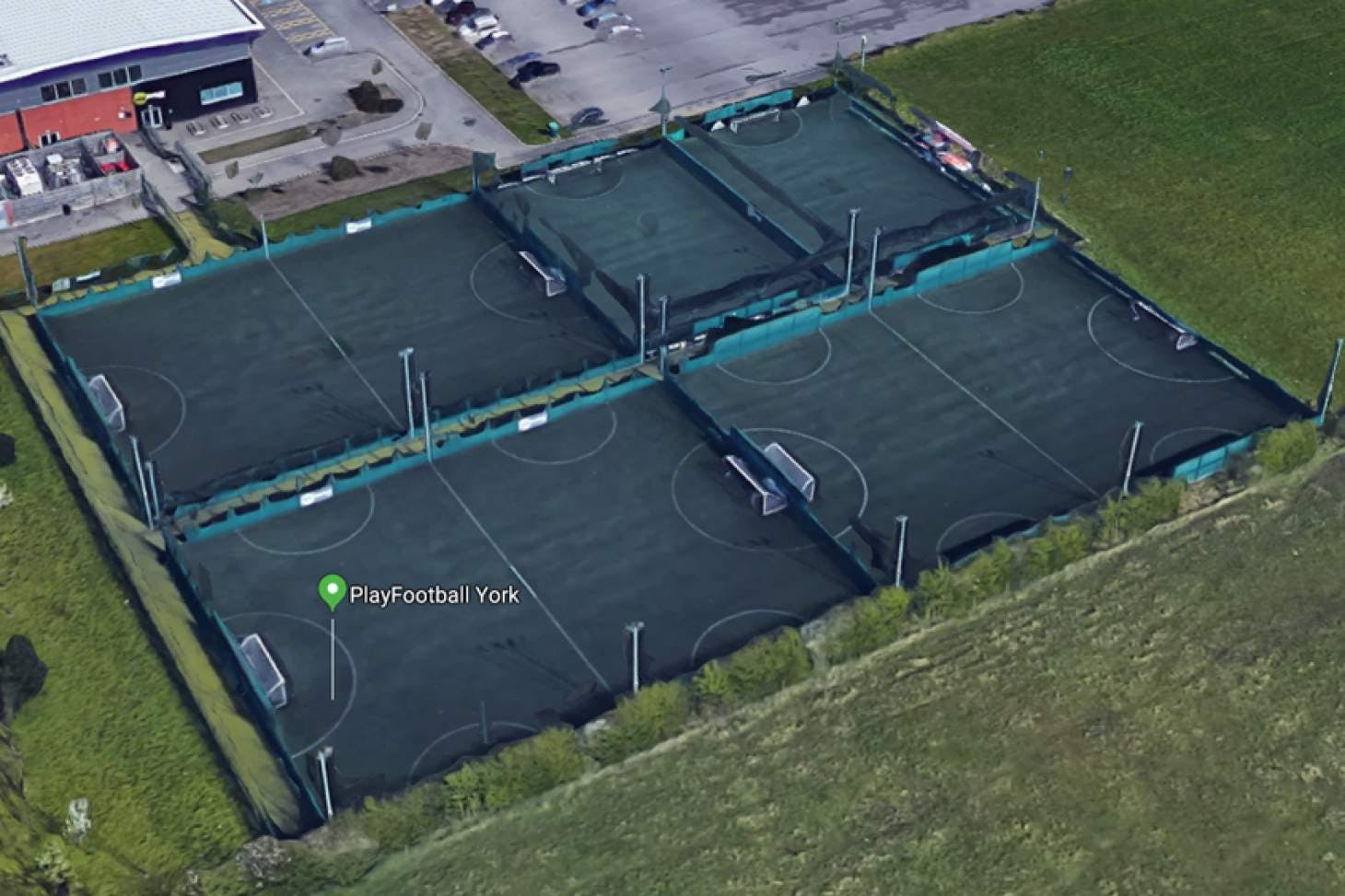 PlayFootball York 5 a side | 3G Astroturf football pitch