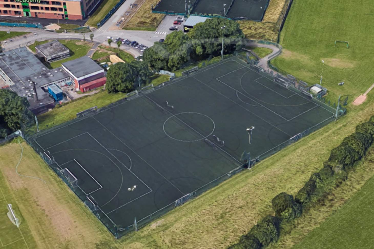 PlayFootball Nottingham 7 a side   3G Astroturf football pitch
