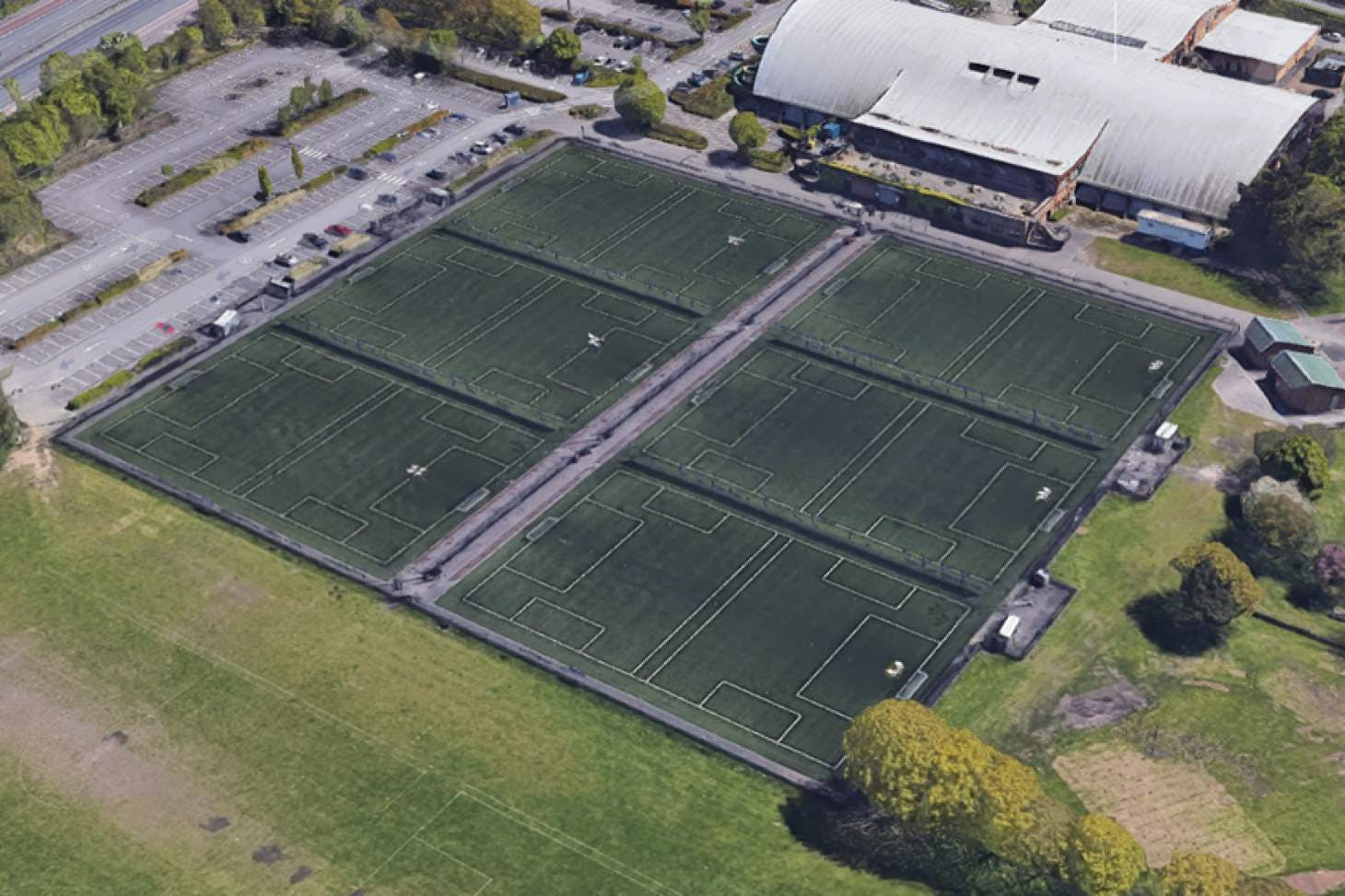 PlayFootball Bournemouth Littledown 6 a side   3G Astroturf football pitch
