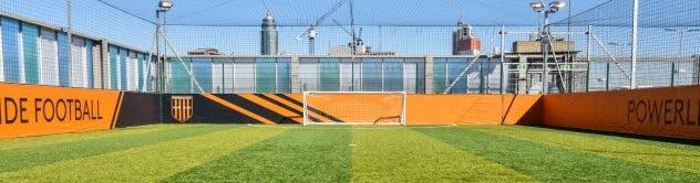 Powerleague Nine Elms Rooftop Football Pitch