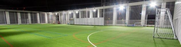 Battersea - Football567 Rooftop Football Pitch