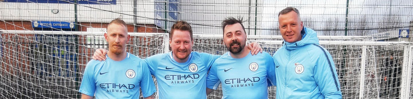 Pete Carruthers Moving Forces Man City