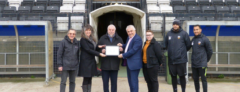 Tooting & Mitcham Community Sports Club - December 2018 Award Presentation