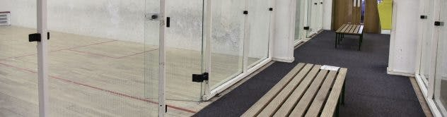 Top 5 squash courts in London (Waterfront Leisure Centre)