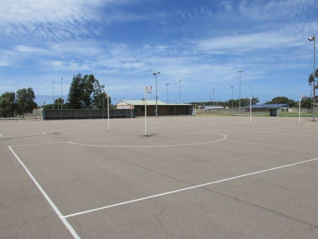 Macadam Netball surface
