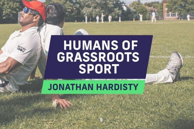 Humans of Grassroots Sport | Jonathan Hardisty