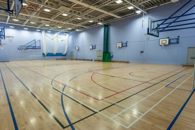 Oasis Academy Media City UK - Sports Hall-2