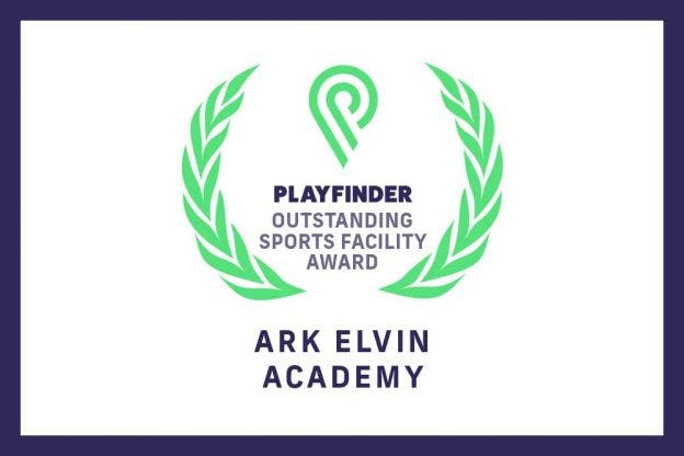 Ark Elvin Academy elated with Playfinder's August Outstanding Facility Award