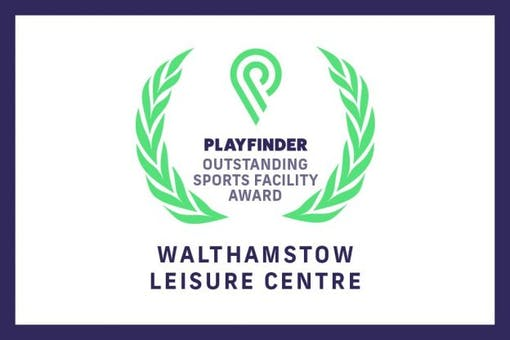 Walthamstow Leisure Centre wins Playfinder September Outstanding Facility Award