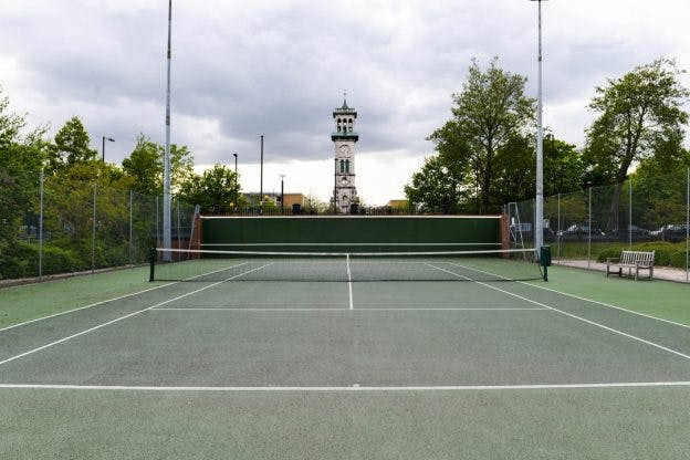 Where to play tennis near me