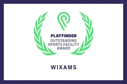 Wixams wins Playfinder's Outstanding Facility Award for October