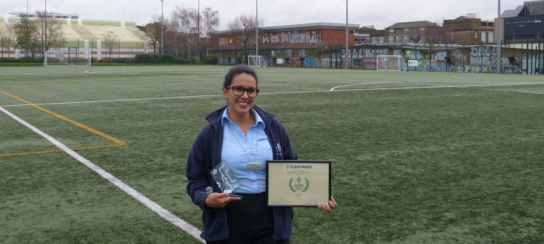 Erika Di Ludovico Playfinder Award
