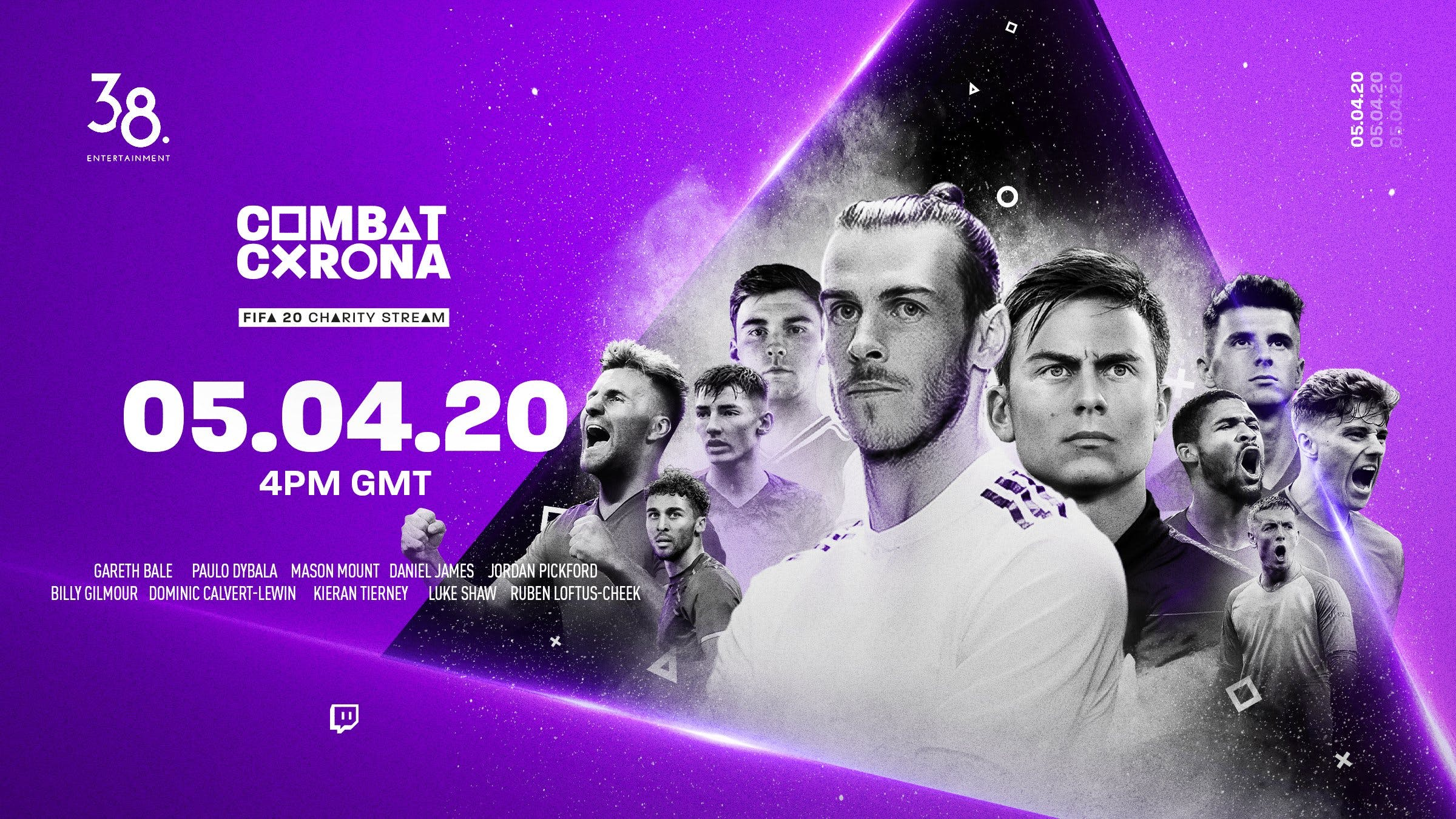 Football stars from around the world will battle it out on Twitch live on Sunday